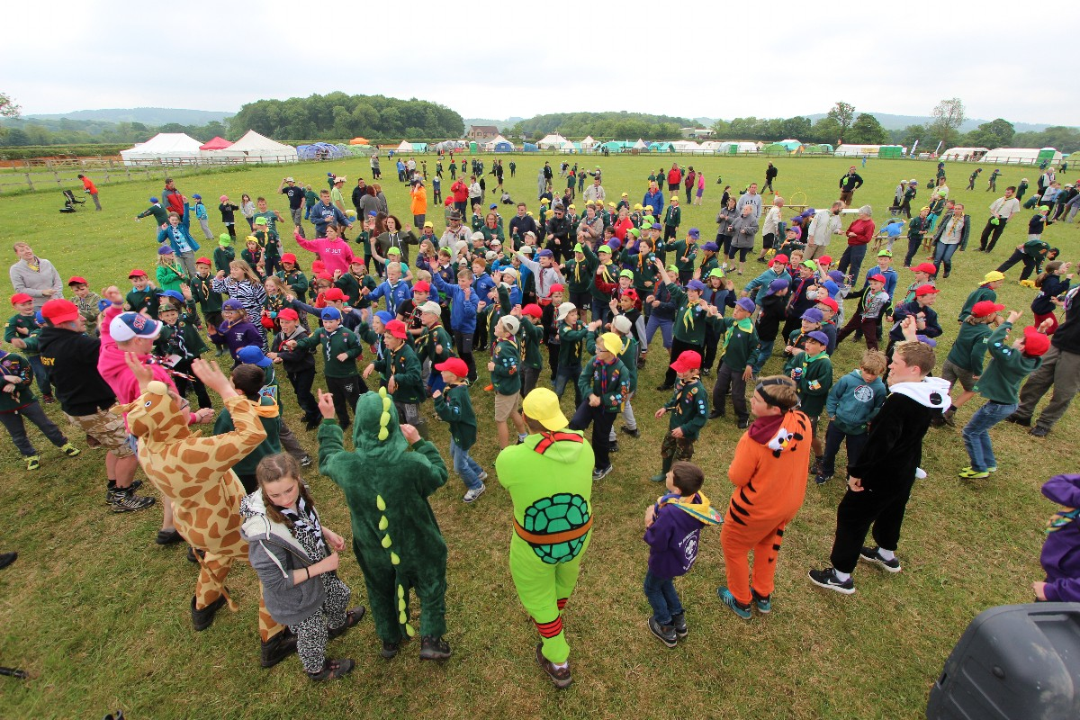 Somerset County Cubs 100 Adventure Camp – Day 4 – Monday 30th May 2016