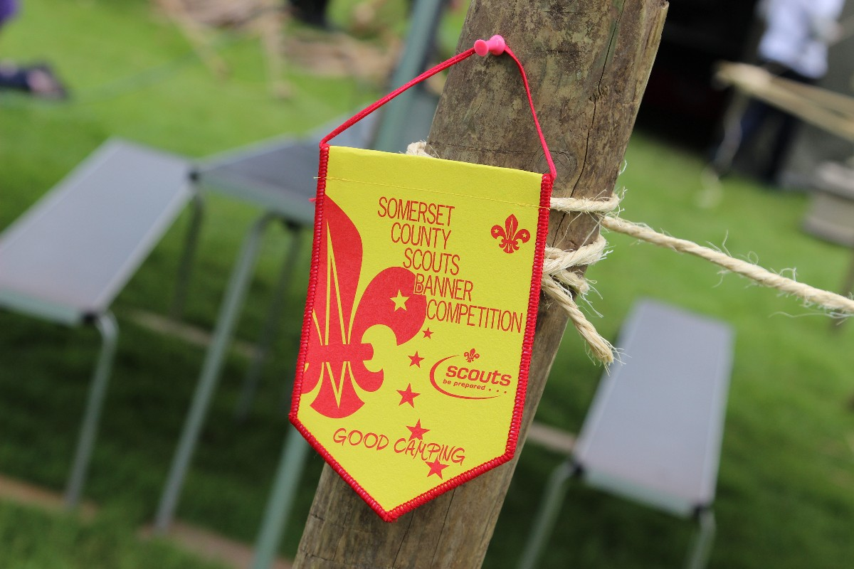 Somerset County Banner Camp held at Huish Woods – 2016