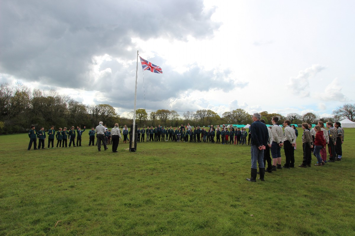 District Scout Camp – Day 2 – Saturday 30th April 2016